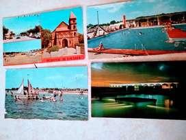 postales 4  de Lago EPECUEN  del año 1973