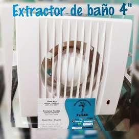 EXTRACTOR DE OLORES PARA BAÑO