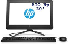 "Computador de escritorio Hp 20"" nuevo AIO con garantía"