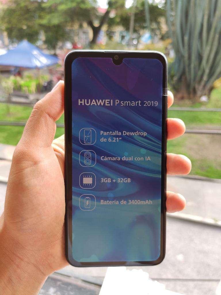 sin Usar Huawei P Smart 2019 con Facrura 0