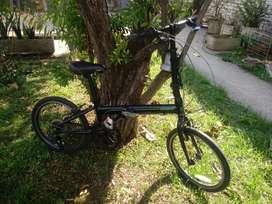 Bicicleta plegable folding SBK rodado 20