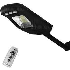 Lámpara Exterior Solar Led 30w Sensor Luz Parlante Bluetooth Ref. CL-180