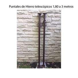 Puntales de Hierro telescópicos hasta 3,10 mtrs Villa Adelina