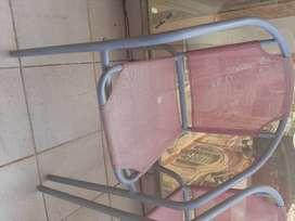 Sillas x2 balcon-terraza