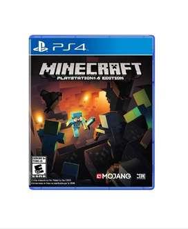 Juego PS4 Minecraft PlayStation Nuevo !!