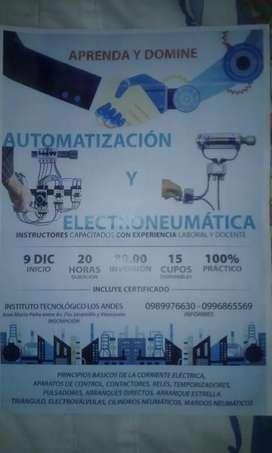 AUTOMATISMOS ELÉCTICOS Y NEUMÁTICA