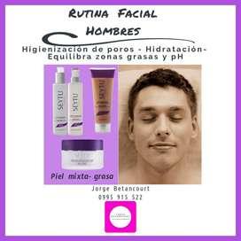 Rutina Facial Hombres Piel Mixtagrasa