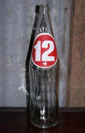 Vieja Botella Gaseosa 12