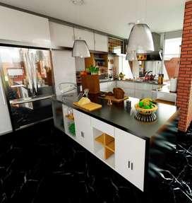 Diseño de interiores, con programas en tiempo real