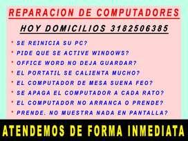 REPARACION DE COMPUTADORAS PRESENCIAL Y A DISTANCIA
