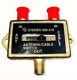INTERRUPTOR SWITCH COAXIAL ANTENA CABLE
