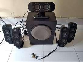 Venta de sonido 5 parlantes y 1 subwoofer