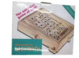 Juego laberinto madera destreza precision estimulacion regalo