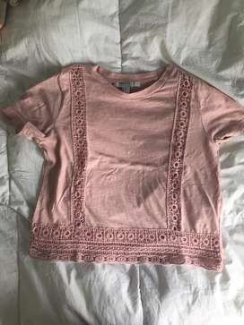 Remera rosa Forever 21