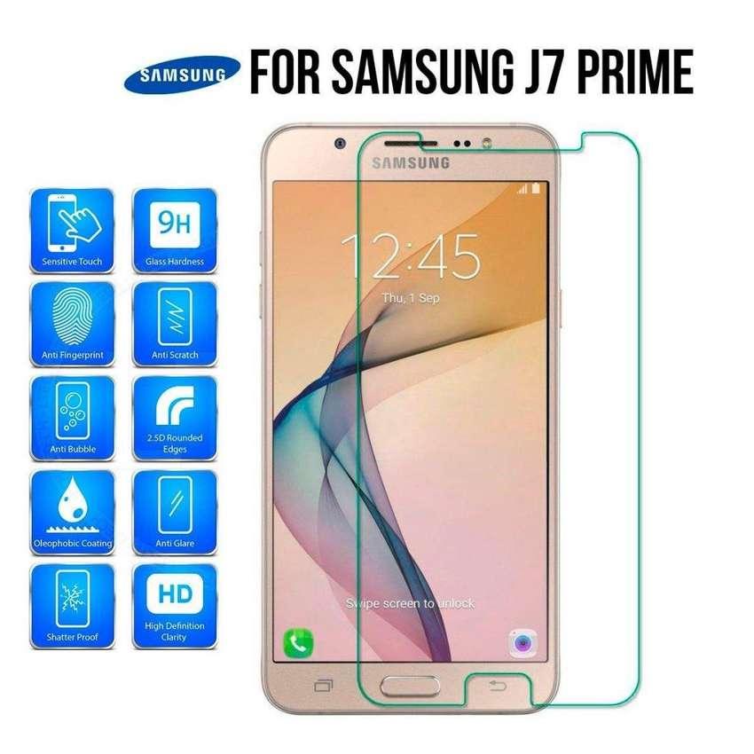 J7 Film Protector Glass Templado Para Celular Samsung J7 Prime J7 Neo J7  2015 0