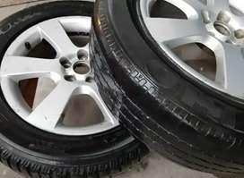 2 Llantas y neumáticos Hyundai Santa Fe