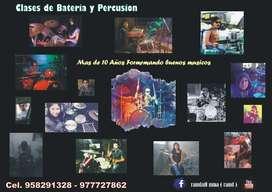 Clases de Bateria y Percusion