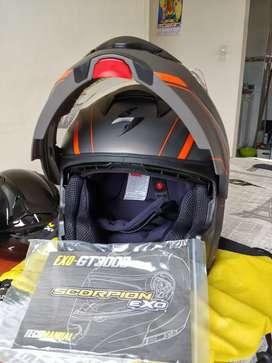 Casco Scorpion Exo GT3000/Talla M/Nuevo