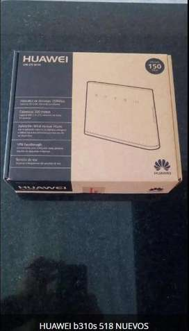 ROUTER HUAWEI B310S 518 4G LTE TODOS OPERADORES 2G,3G,4G