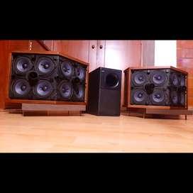 Bose 2.1 Parlantes 901 y Subwoofer bafles Yamaha marantz jbl technics sansui