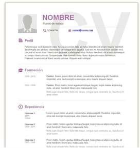 Preparo Curriculum Vitae y Carta de Presentación: Fátima, Pilar