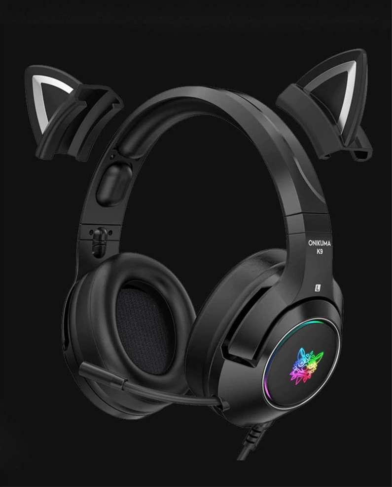 Audifonos, auriculares, Onikuma K9 versión Demon