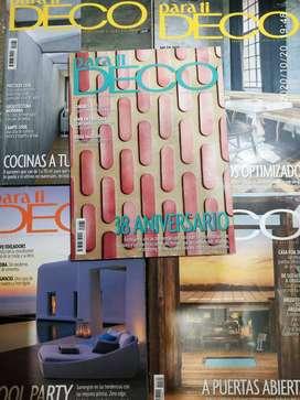 Lote revista Para Ti Deco y Quid