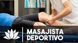 Curso de Masaje Deportivo.