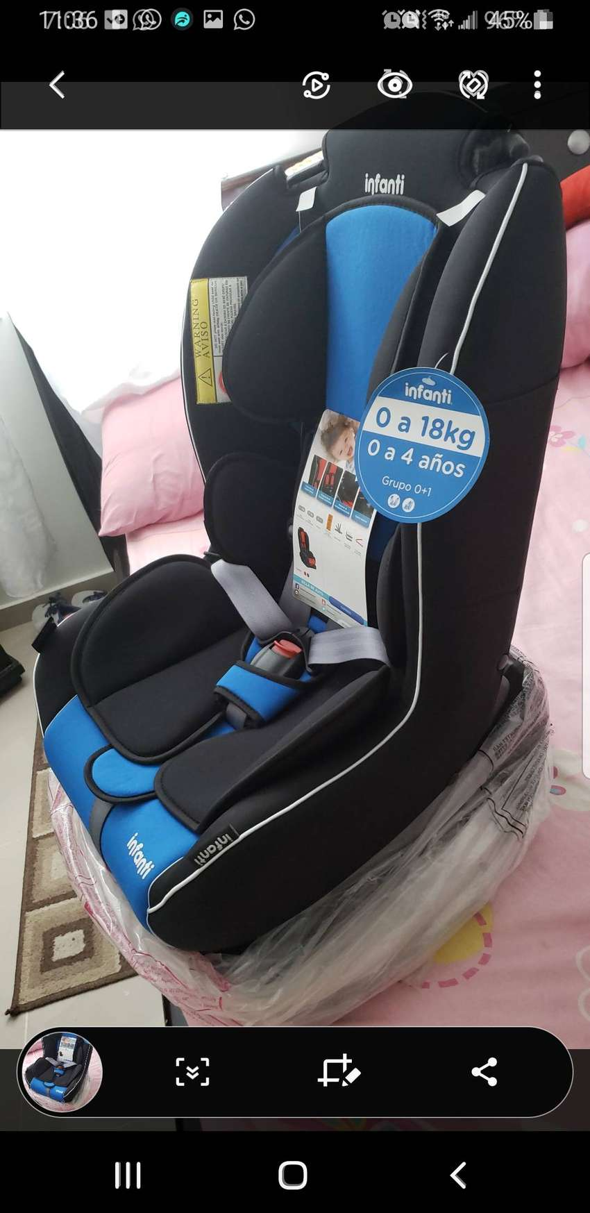 Silla para bebe 0