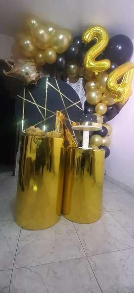 Alquiler de cilindros para decoración