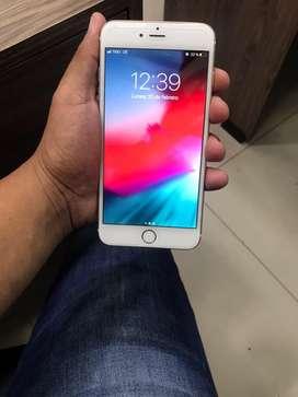 Vendo iphone 7plus de 256gb y iphone 6plus de 16gb excelente condiciones libre de icloud con cargador