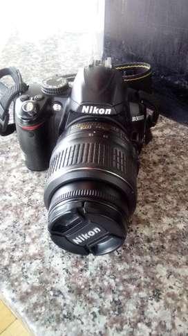 Cámara fotográfica Nikon mod:D3000
