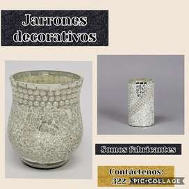 Jarrones decorativos