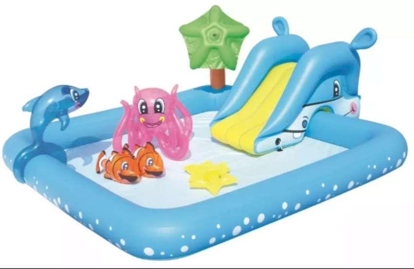 """Pileta inflable """"Parque acuatico Nemo"""" 0"""