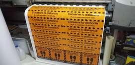 Señalizacion protocolos bio seguridad, carteles informativos