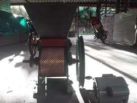 Despulpadora con motor