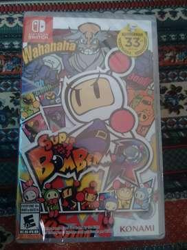 Juego Super Bomberman R (original)
