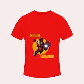 Camisetas personalizadas Iron Man