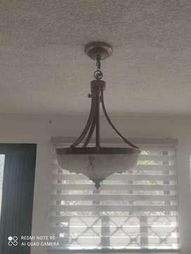 Vendo hermosas lámparas de techo