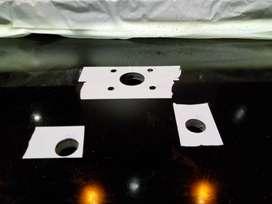 Orificios para choperas y griferia en mesadas de  marmol a domicilio