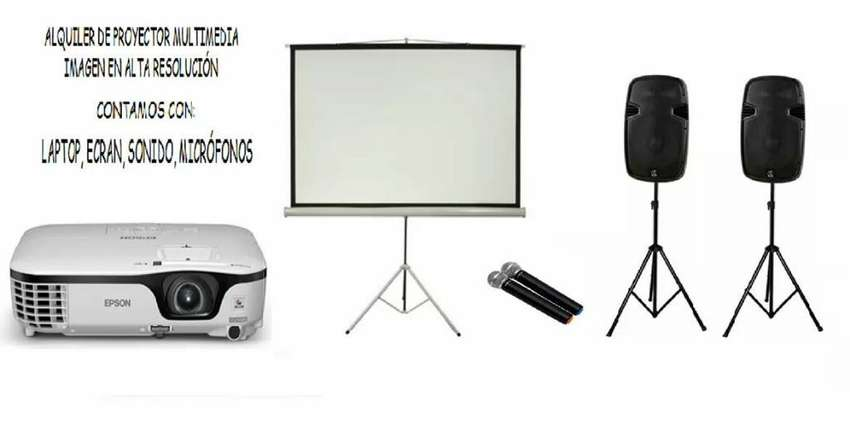 Alquiler de Proyector Multimedia Pantallas LED Ecran Sonido Trujillo 0