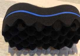 Esponjas para peinar cabello rizado