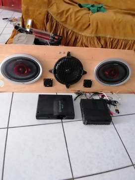 Venta de sistema de Car audio