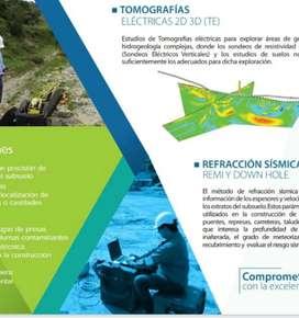 Estudios geoelectricos