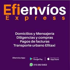 Domicilios y mensajería Efienvíos Express