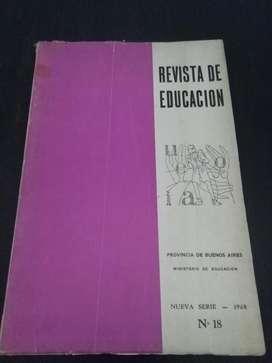 Antigua Revista de Educacion de la Provincia de Buenos Aires 1968