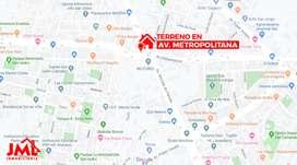Terreno Comercial EN AV. Metropolitana DE 236 M.