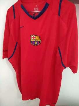 Camisetas ( 2), de fútbol del Barcelona.S/U