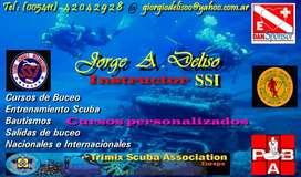 Cursos de Buceo Deportivo,  SSI , SALIDAS DE BUCEO EN VELERO A COLONIA