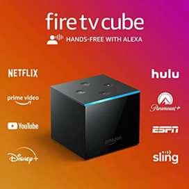 Amazon fire tv cube 16GB interna, 2GB RAM
